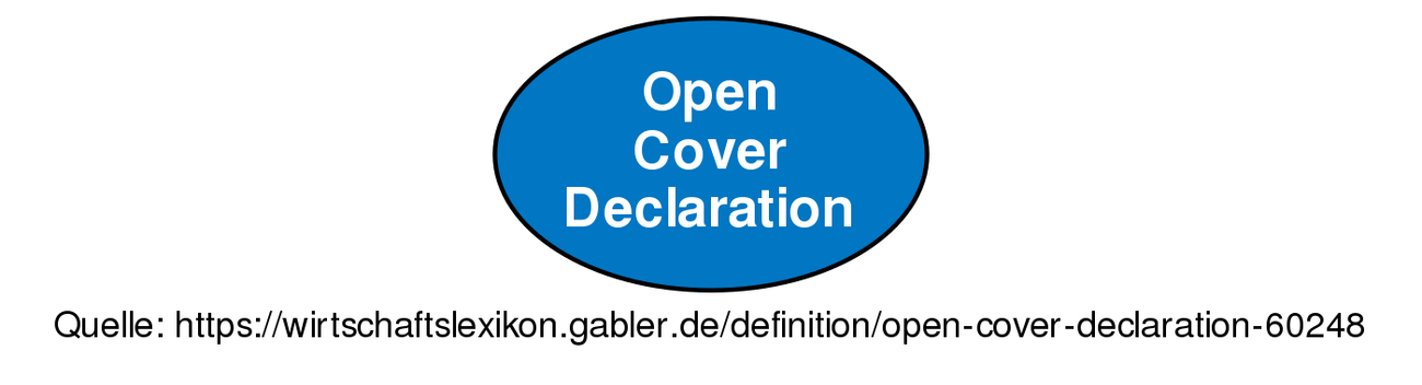 Open Cover Declaration O Definition
